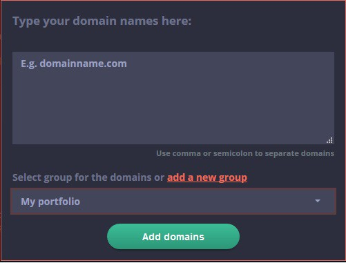 Add any domain you can think of to your list