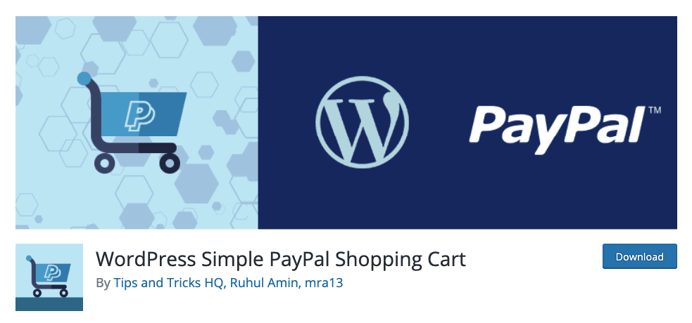 Simple PayPal Shopping Cart