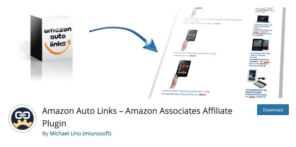 Amazon Auto Links