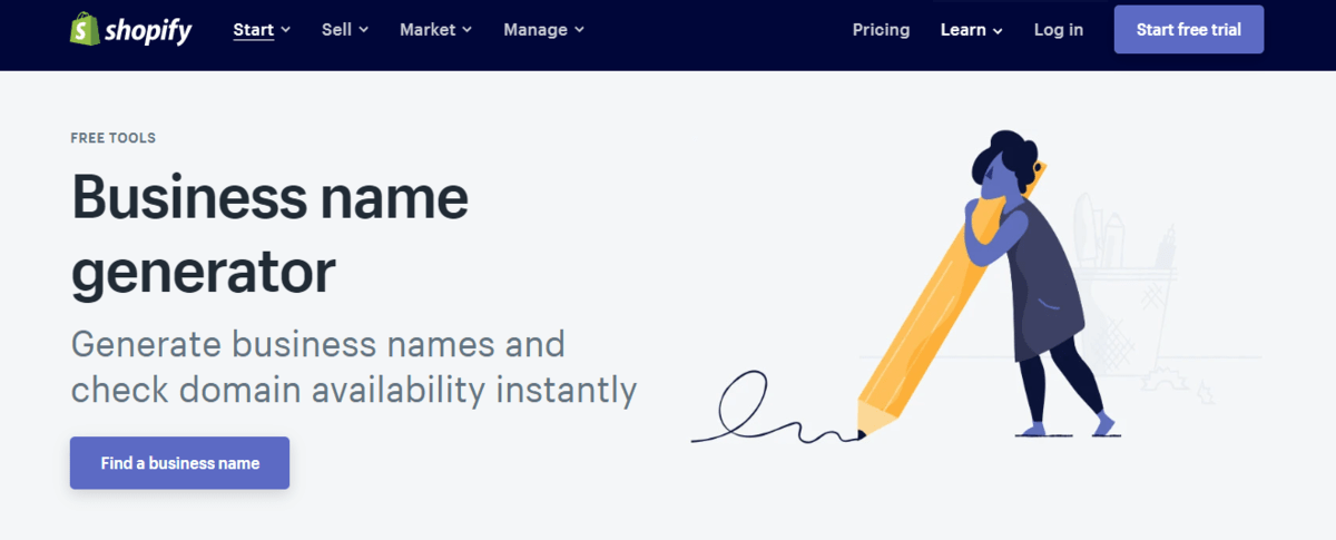 10. Shopify Business Name Generator