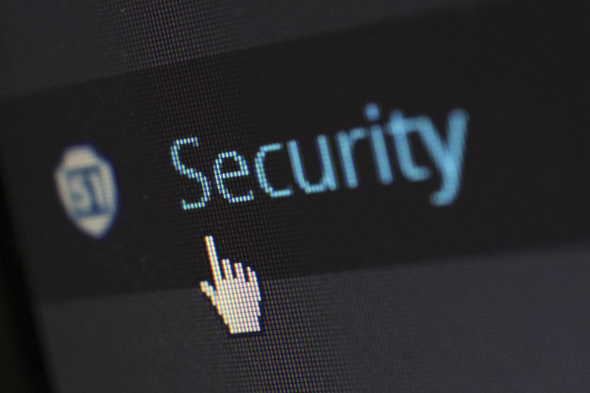 WP security tab