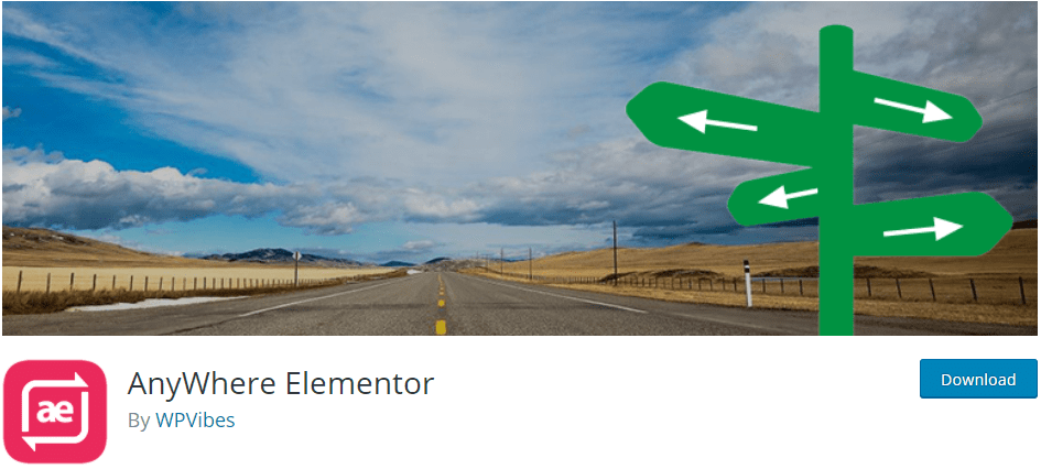 AnyWhere Elementor