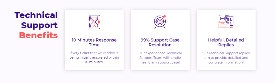 HostArmada support benefits