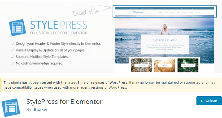 StylePress for Elementor
