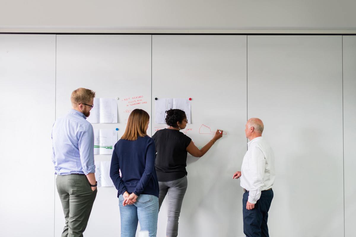 Team making a plan
