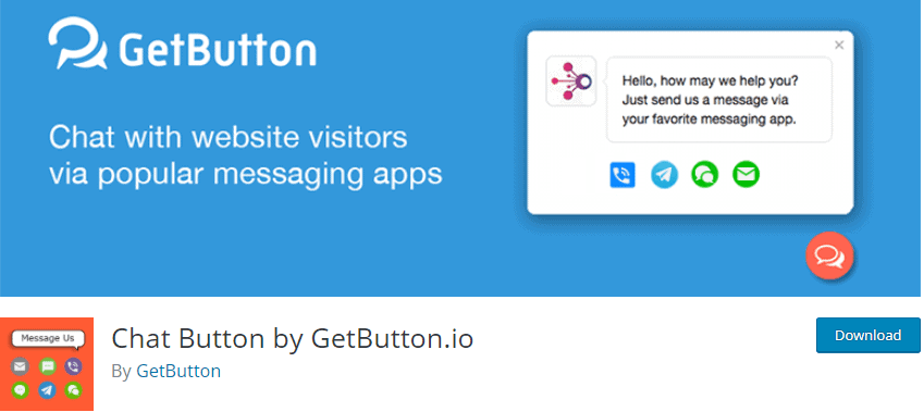 Chat Button by GetButton.io