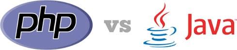 PHP vs Java illustration
