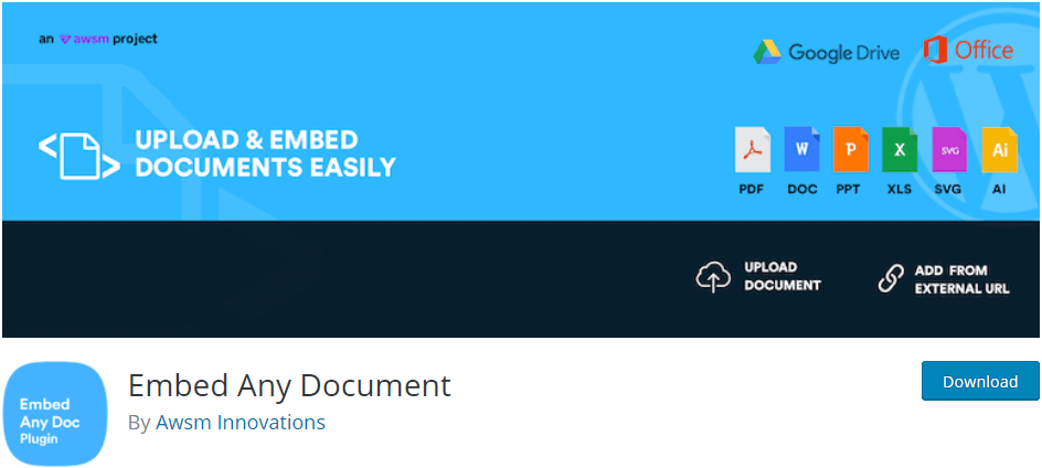 Embed Any Document